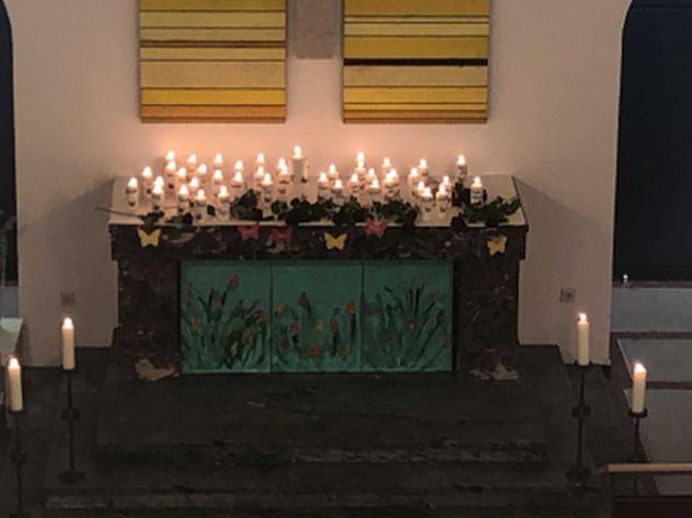 Kigodi Kerzen klein